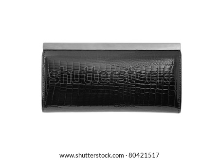 Wallet isolated over white background