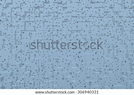 Wallpaper abstract background effect 3d block style