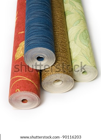 Wallpaper roll stock images royalty free images vectors for Wallpaper rolls clearance