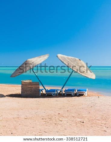Wallpaper Sand Paradise  - stock photo