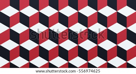 Wallpaper with multicolored squares