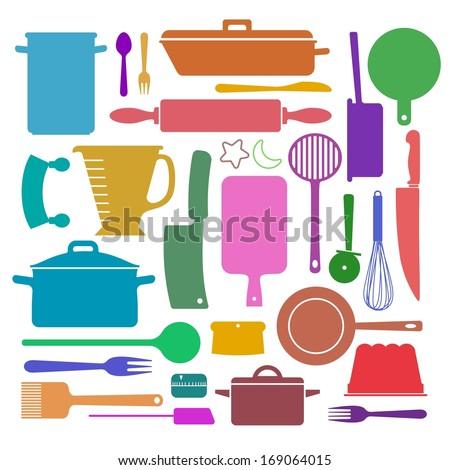 Kitchen Utensils Wallpaper kitchen tools seamless pattern cooking utensils stock vector