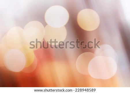 Wallpapers chocolate brown and white stripes bokeh. - stock photo