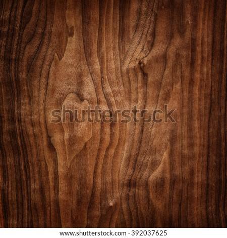 walnut wood texture - stock photo