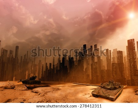 War - stock photo