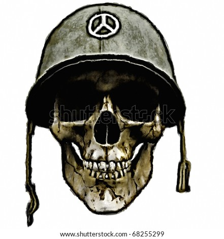 War and peace - dead american soldier - vietnam - iraq - afghanistan