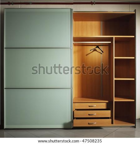 wardrobe - stock photo