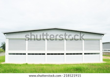 Warehouse building - stock photo