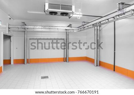 Warehouse freezer Cold storage.  sc 1 st  Shutterstock & Warehouse Freezer Cold Storage Stock Photo (Royalty Free) 766670191 ...