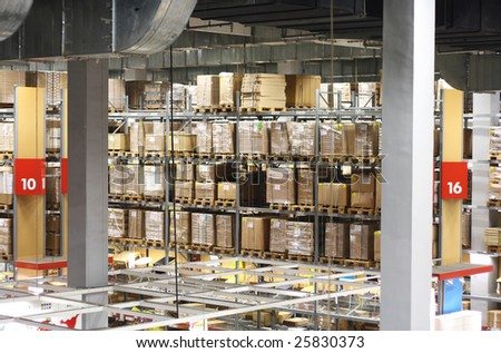 warehousing - stock photo