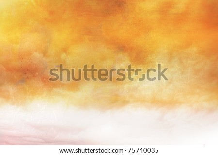 Warm Abstract Sky