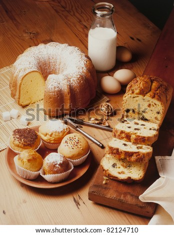 warm and delicious bakery preparations