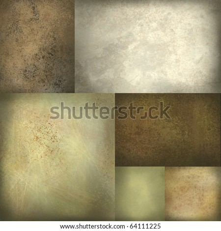 warm earthy natural colors background - stock photo