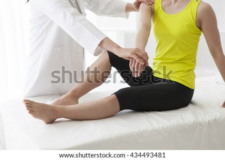 Warm hand will heal the mind and body. - stock photo