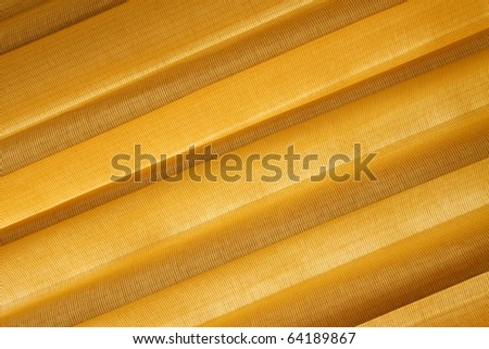 Warm textile texture backlit by the Sun - stock photo