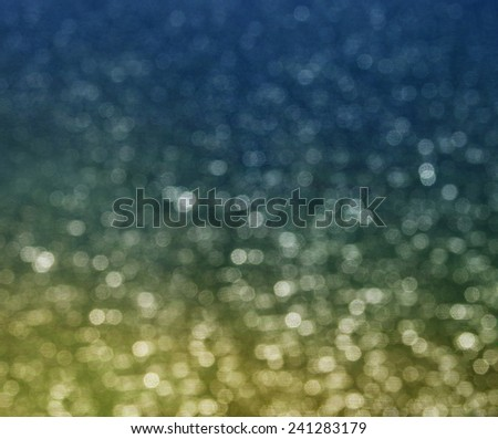 Warm tone blurred dots background - stock photo