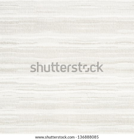 warm watercolor striped paper texture or background - stock photo