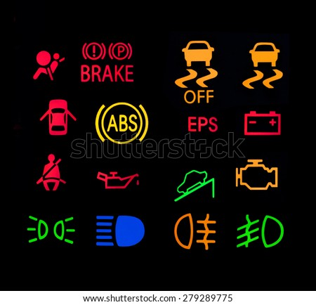 Car Warning Lights Stock Images Royalty Free Images
