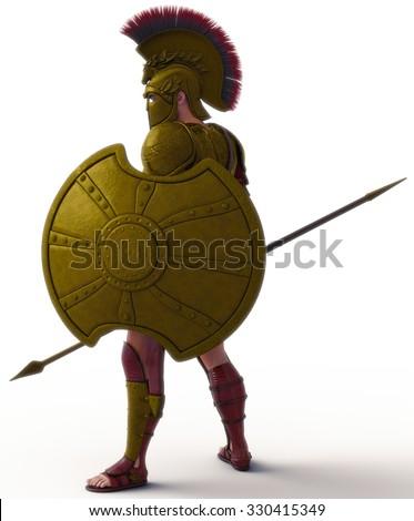 warrior 5 - stock photo