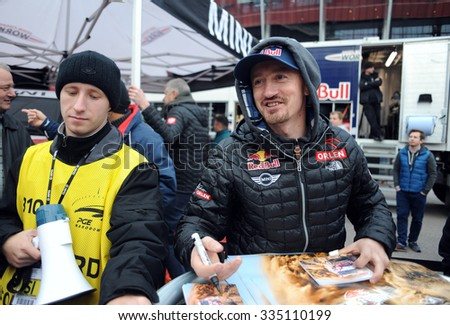 WARSAW, POLAND - OCTOBER 24 2015: VERVA Street Racing Special Edition