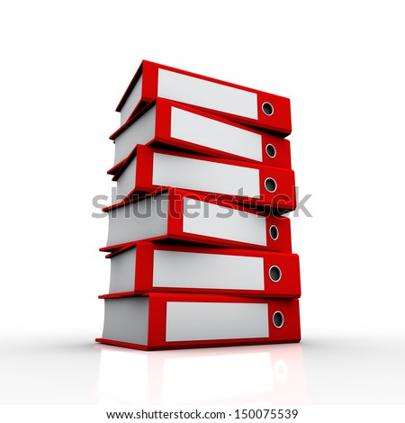 was placed on top of the world of work and education, and a wide angle was used in the red folders