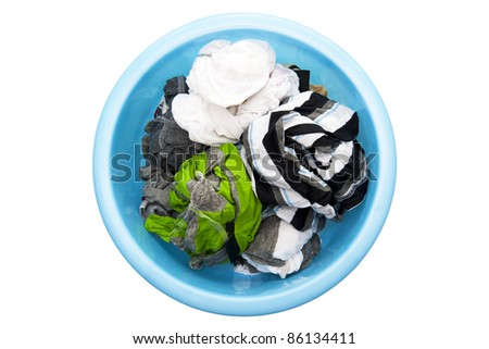 Washed clothes - stock photo