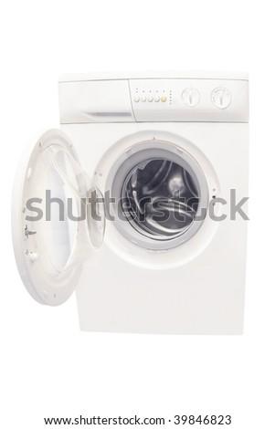 washer under the white background - stock photo