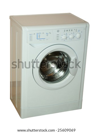 opening washing machine