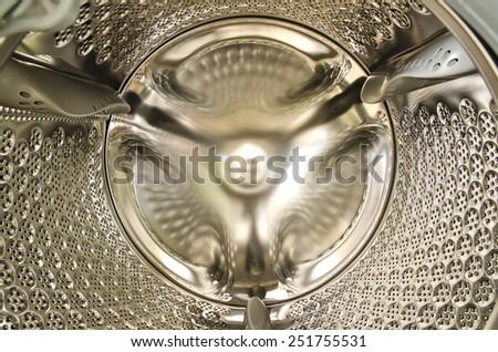 Washing machine tank, Background and texture. - stock photo