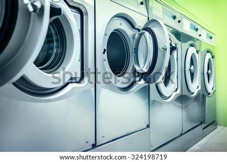 Washing machines - stock photo