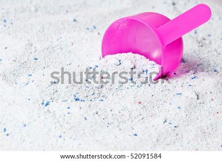 washing powder - stock photo