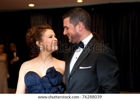 WASHINGTON - APRIL 30: A pregnant Alyssa Milano and husband David Bugliari arrive at the White House Correspondents Dinner April 30, 2011 in Washington, D.C.