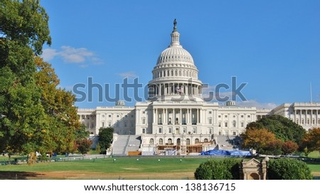 Washington DC Capitol , USA - stock photo