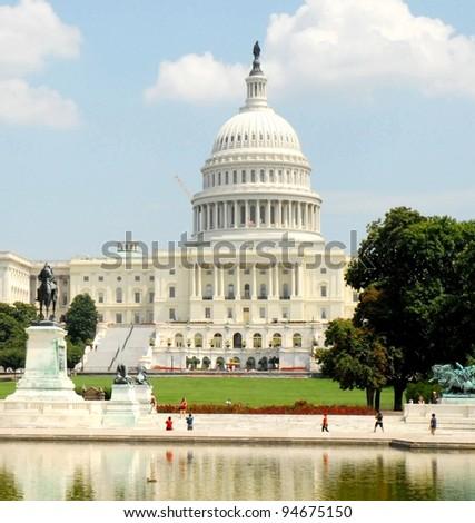 Washington DC Capitol, USA - stock photo