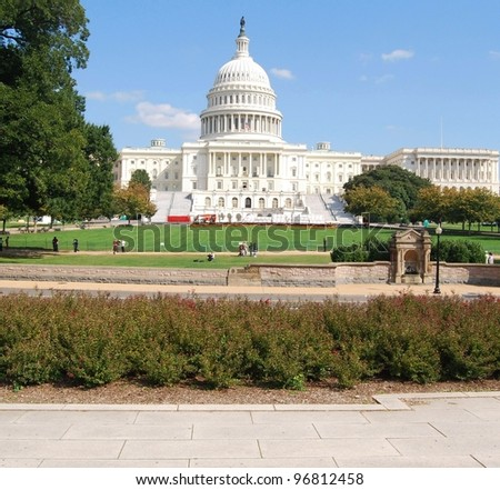 Washington DC Capitol ,USA - stock photo