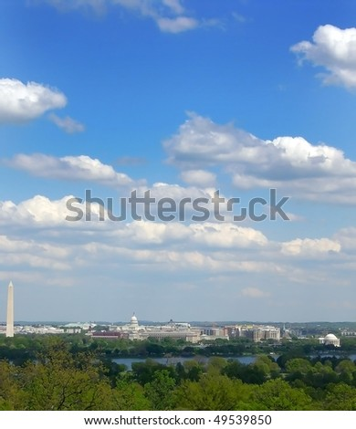 Washington DC from Across Potomac River