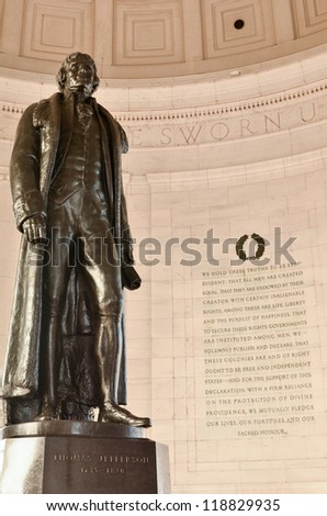 Washington DC, Jefferson Memorial - stock photo