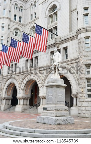 Washington DC, Old Post Office Building