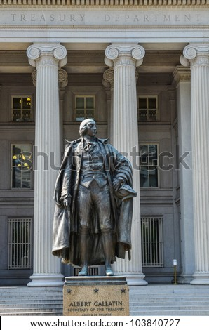 Washington DC - The Treasury Department Building