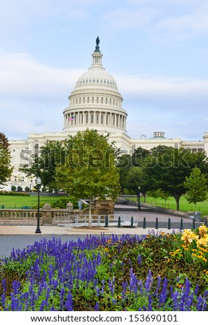 Washington DC, US Capitol Building - stock photo