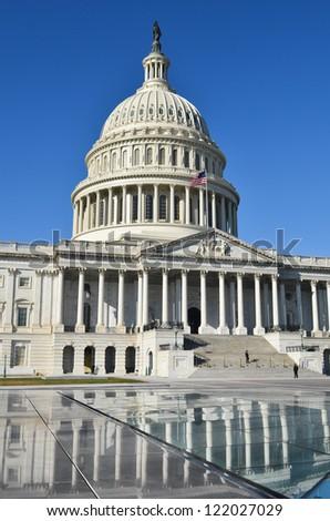 Washington DC, US Capitol Hill building - stock photo
