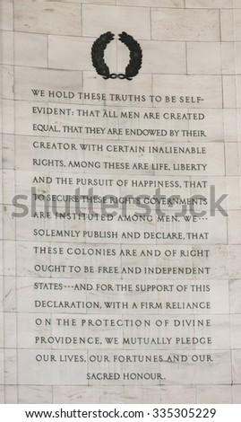 WASHINGTON, DC, USA - MARCH 18, 2015: Jefferson Memorial. - stock photo