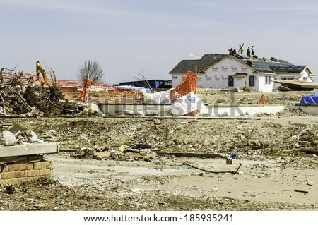 Prekaz Kosovo 19 March 1998 Destroyed Stock Photo 92031860