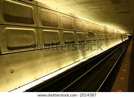 Washington Metro station - stock photo