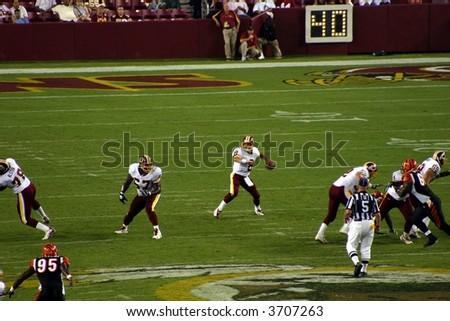 Washington Redskins Football - stock photo