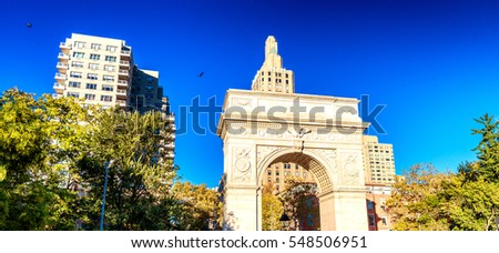 Washington Square, New York City.