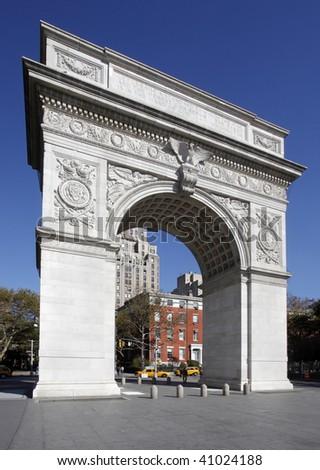 Washington Square Park - stock photo