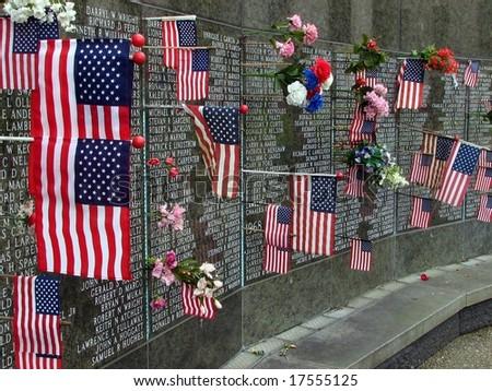 Washington State Vietnam War Memorial - stock photo