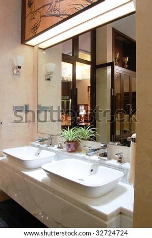 washroom - stock photo