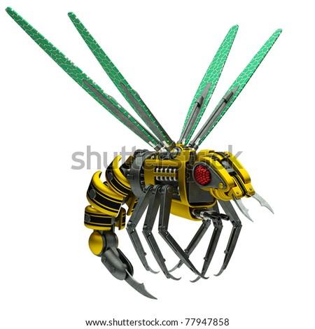 wasp gun - stock photo
